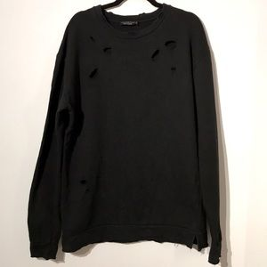 Other - Made in Italy distressed sweatshirt